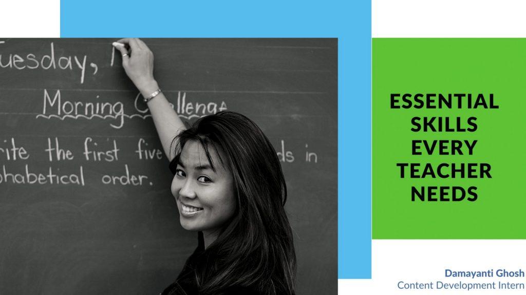 Essential skills teachers need banner