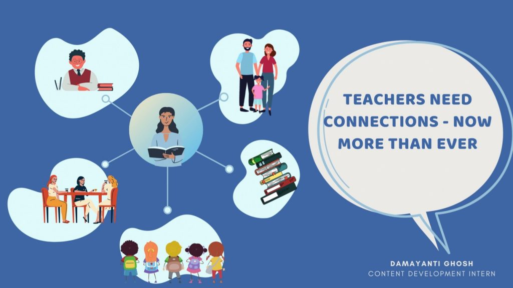 Teacher connections banner